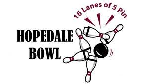Hopedale Bowl Logo